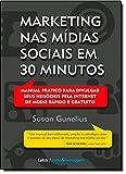 capa de Marketing nas Mídias Sociais em 30 Minutos