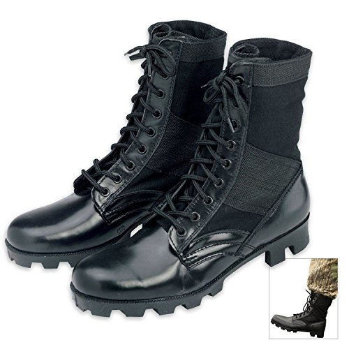 Rothco 8'' GI Type Jungle Boot, Black, 15 (Womens Military Boots)