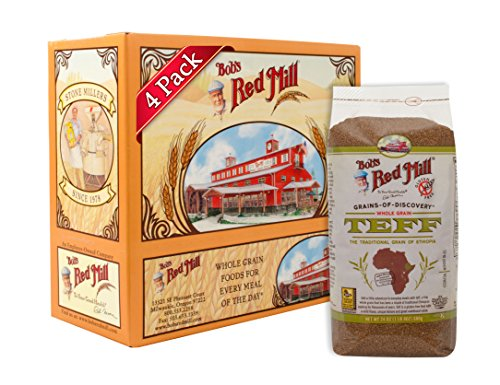 Bob's Red Mill Whole Grain Teff, 24 Oz (4 Pack) - Gluten Free Grains