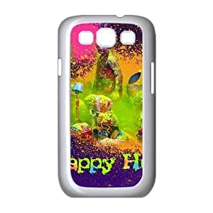 Sexyass Happy Smiling Face Samsung Galaxy S3 Cases Happy Holi Picture, Anti Fall Happy Smiling Face, {White}
