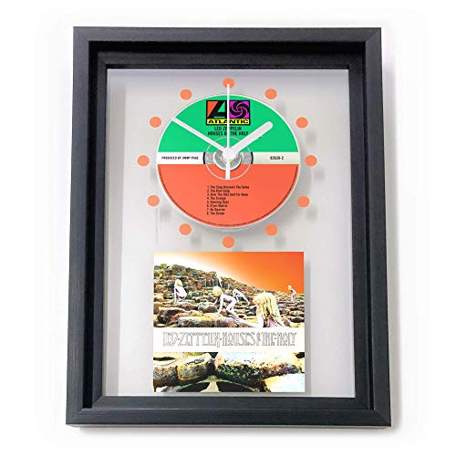 (LED ZEPPELIN - Houses Of The Holy: FRAMED CD WALL CLOCK/Including Cover Art)