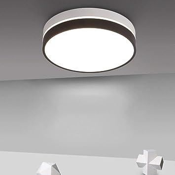 LQB Luz de Techo Redonda Dormitorio Luces Moderna Simple ...