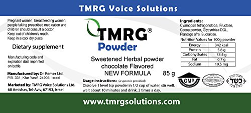 TMRG Emergency Vocal Recovery KIT (Powder +Classic + Synergy +Clip) Professional Vocal Cord Remedy 100% Natural Herbal Voice Supplement (30ml Drops + 85gr Powder + 20ml Oil +Clip) by TMRG Solutions (Image #7)