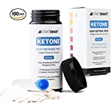 Start Smart Ketone Test Strips With FREE MEAL PLAN Perfect For Ketosis PLUS Storage Vial, 100 ct