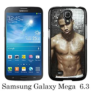 Beautiful And Unique Designed Case For Samsung Galaxy Mega 6.3 I9205 With Trey Songz black Phone Case