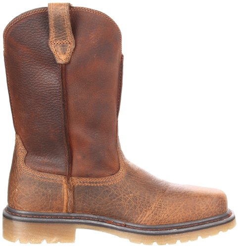 Work Toe Brown Boot Mens Pull Steel Ariat Earth on Rambler 7XnwY