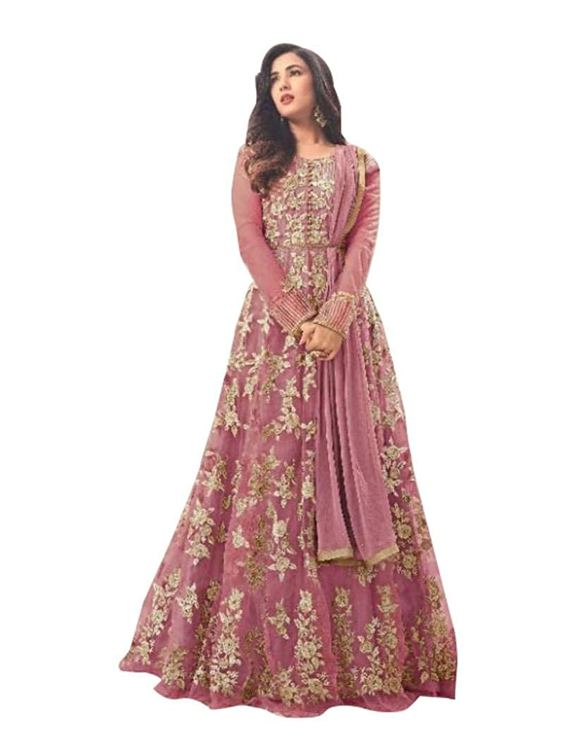 Choice 2 Navaratri speical collestion Net Latest Embroidered and with Beautiful Anarkali Designer Salwar Kameez