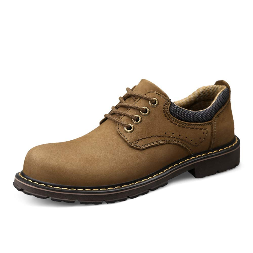 Mens Shoes Mens Fashion Oxford Casual Simple Classic Lace-up Round Toe Outsole Height Formal Shoes Fashion