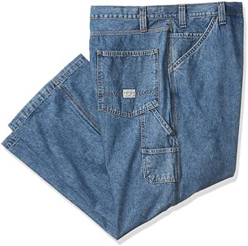 Signature by Levi Strauss & Co Men's Big and Tall Carpenter Fit Jeans
