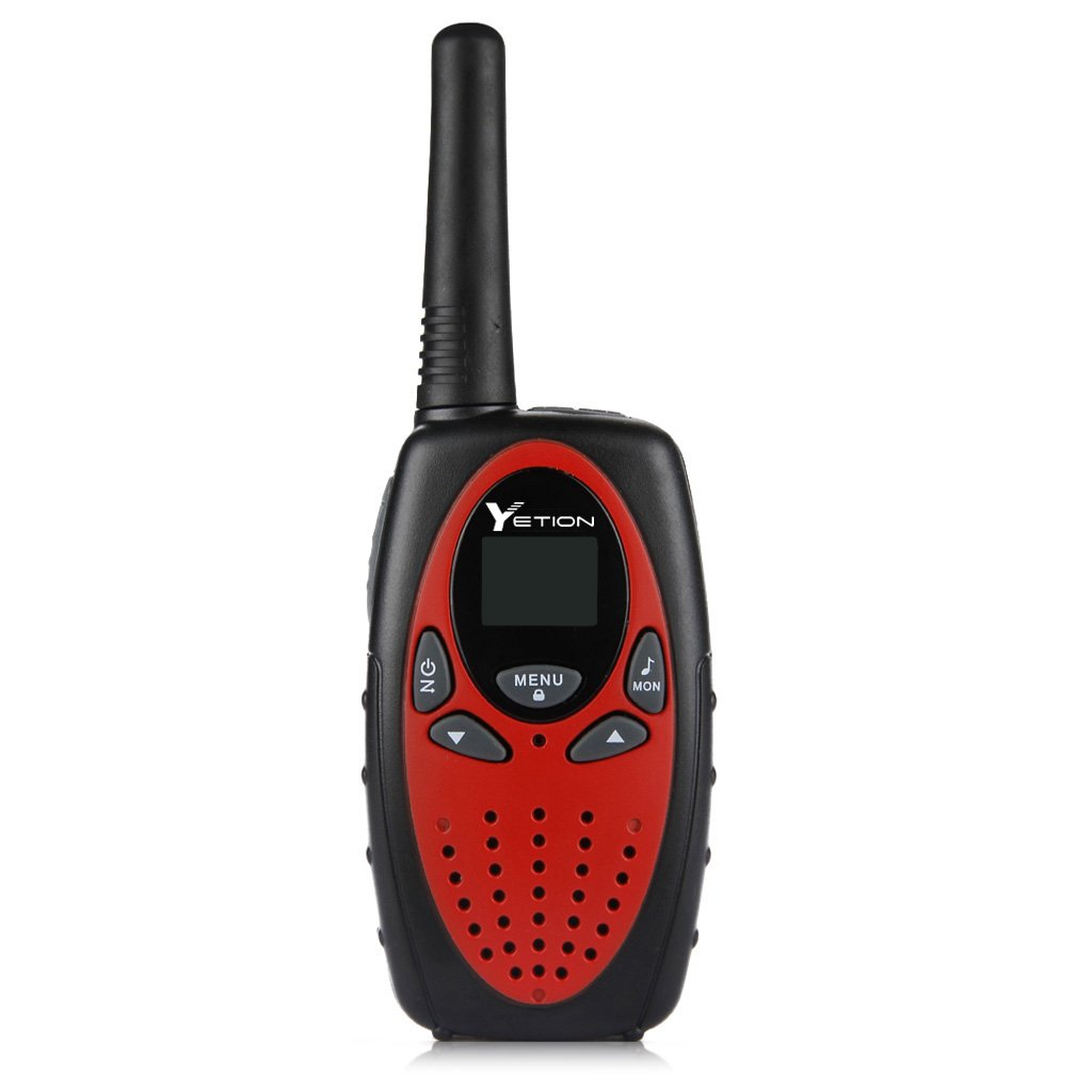 YETION Walkie Talkies Two Way Radios Long Range Distance 22 Channel Clear Sound (Red x4) by YETION (Image #3)