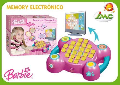 IMC TOYS 643001 - Barbie Memory Electrónico