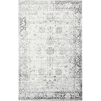 Amazon Com Gray 4 11 X 8 Ft Canterbury Rug Modern