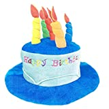 Blancho Bedding Fancy Dress Hat Jester Hat Fun Multicolor Birthday Party Costumes,Blue Hat