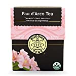 Buddha Teas Pau D'arco Tea, 18 Count (Pack of 6)