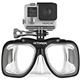 OCTOMASK GoPro Hero5 and Session Dive Mask for Scuba Diving and Snorkeling
