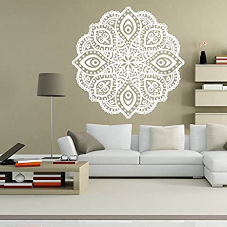 Amazon.com: Wall Decor Mandala Decal Vinyl Sticker Home ...