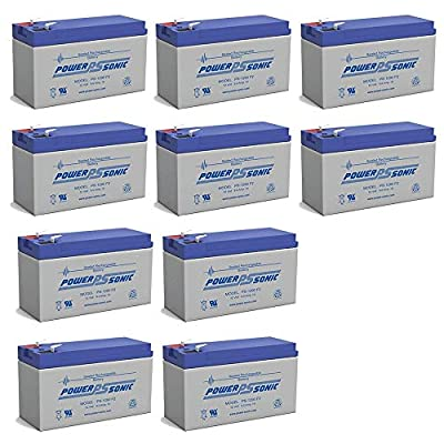 Powersonic 12V 9Ah BATTERY APC ES,BE550G,RBC110,PS-1290 EACH - 10 Pack