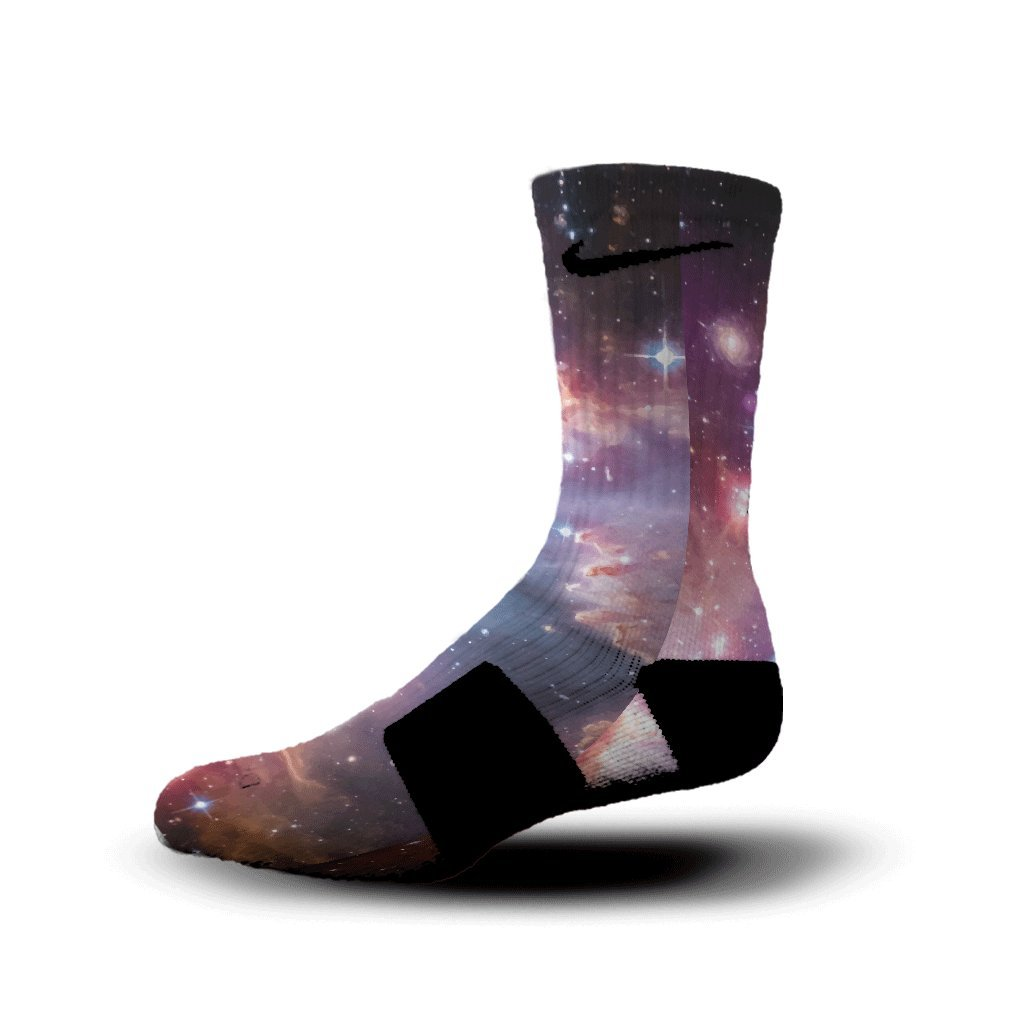 HoopSwagg Galaxy Custom Nike Elite Socks NN-SO-1034