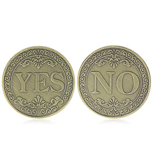 (Non-currency Coins - Floral Yes No Letter Ornaments Collection Arts Gifts Souvenir Commemorative Coin - Coin Coin Duty Collect Souvenir Gold Old Coins Russia Coin Coin Us Coin Lift Coin Coin 1)