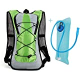 Hydration Cycling Backpack Pack with a 2L Water Bag, Handsome Design and Durable Fabric Material, iParaAiluRy