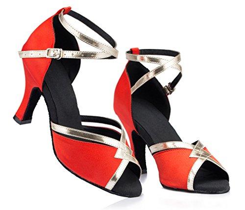 Scarpe Da Ballo Cinturino Alla Caviglia Con Cinturino Alla Caviglia E Tacco Spesso Da Donna