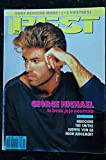 BEST 236 MARS 1988 COVER GEORGE MICHAEL INDOCHINE THE SMITHS LUDWIG VON 88 NEON JUDGEMENT + POSTERS DEPECHE MODE