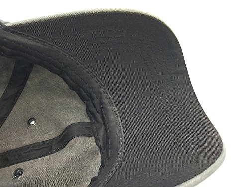 99813e37 Glamorstar Classic Unisex Baseball Cap Adjustable Washed Dyed Cotton Ball  Hat Black