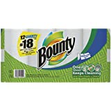 Bounty Select A Size, Giant Roll (1.5X Regular), 2 Ply, White-12pk