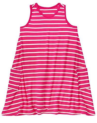 Crazy 8 Girls Toddler Striped High Low Dress