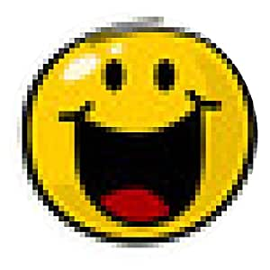 alfombrilla de ratón Los smiley colorido - ronda - 20cm