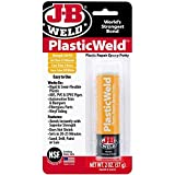 J-B Weld 8237 PlasticWeld Plastic Repair Epoxy Putty - 2 oz (Pack of 6)
