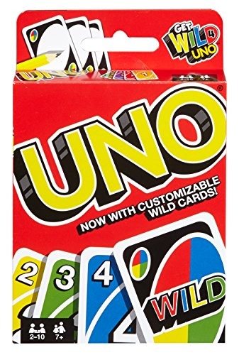 Mattel Games Uno Get Wild Card Game