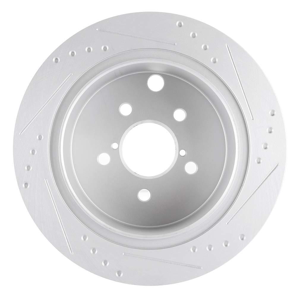 2015 Fit Subaru XV Crosstrek OE Replacement Rotors Ceramic Pads F