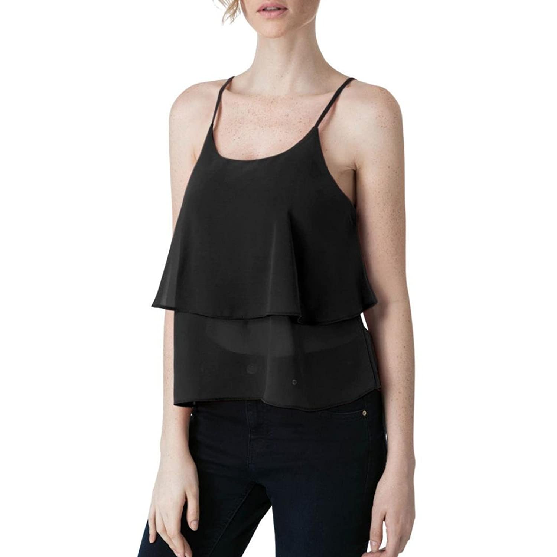 New Womens Ladies Plain Strappy Bra Criss Cross Crop Vest Tank Bralet Top 8-14