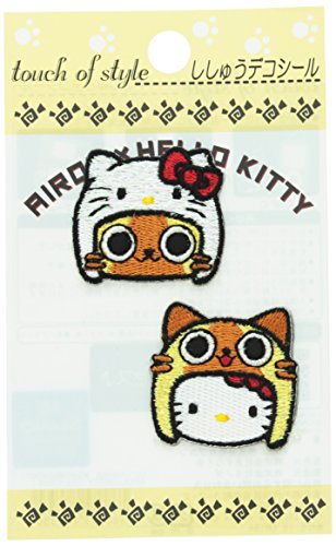Sanrio Hello Kitty x Monster Hunter Airou Patch Sticker (Face)
