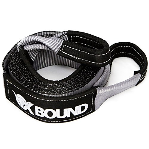 OXBOUND Premium Tow Strap - Heavy Duty Towing Recovery Strap : 3