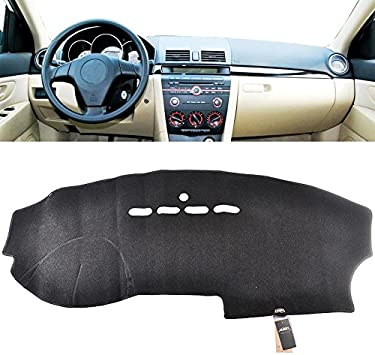 XUKEY Dashboard Cover for 2004 2005 2006 2007 2008 Acura TL Dash Cover Mat