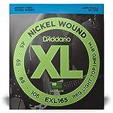 D'Addario EXL165 Nickel Wound Bass Guitar