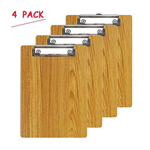 Oak Pine Letter Size Clipboards Clipboard