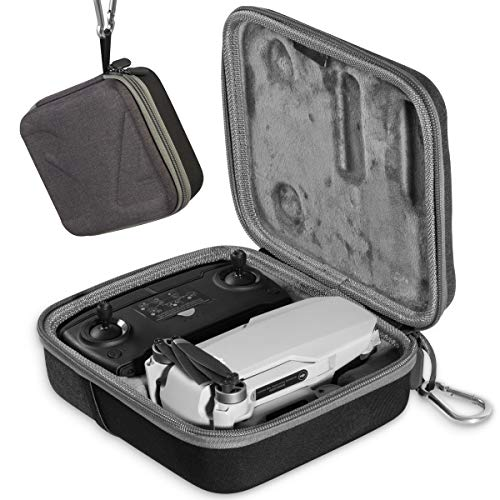 Aboom Carrying Case for DJI Mavic Mini Drone with Carabiner, Excursion Bag for Mavic Mini, Remote Controller and Accessories