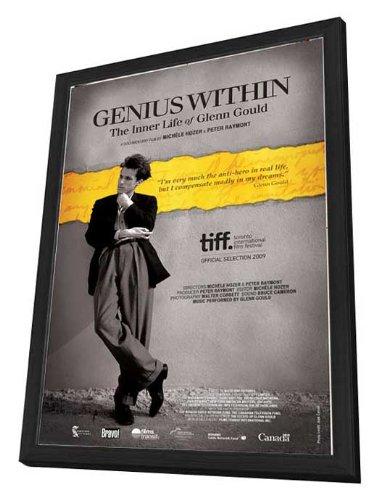 Genius Within: The Inner Life of Glenn Gould - 11 x 17 Framed Movie Poster