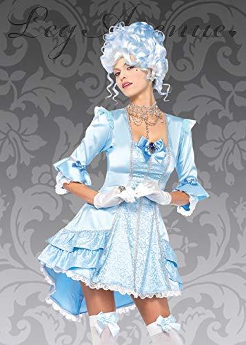 Deluxe Marie Antoinette Prinzessin Kostüm für Damen Large (UK 12-14)  Large (UK 12-14)