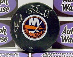 Autograph Warehouse 12369 Billy Smith Autographed Hockey Puck New York Islanders