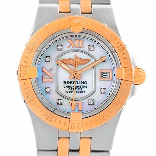 Breitling Galactic quartz womens Watch C71340 (Certified Pre-owned)