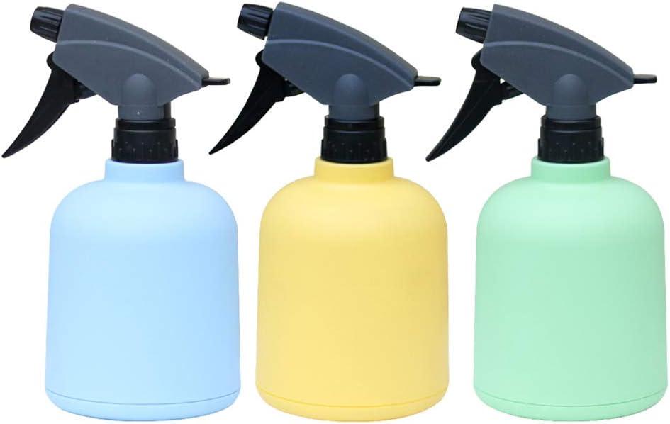 Beaupretty 3 Piezas 600 Ml Botellas de Spray Vacías Regaderas de Plástico Dispensador de Spray de Alcohol Desinfectante de Plástico Oficina Hogar Y Exterior