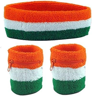 3-Pack: 2 Wristbands with Zipper//Wrist... Funny Guy Mugs Unisex Sweatband Set