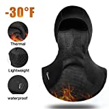 RIGWARL Balaclava Face Mark for Cold Weather,Motorcycle Balaclava Ski Mask with Waterproof Windproof and Thermal for Men Skiing,Cycling,Outdoor Sports