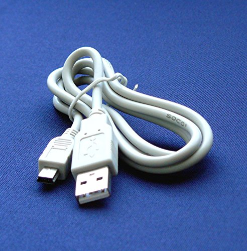 G10 G11 Digital Cameras - Mini USB IFC-400PCU, IFC-300PCU, 9370A0 - Cable Cord Lead Wire for Canon Digital Camera G10, G11, G12, G3, G5, G6, G7, G9 Digital Camera Cable - 2.5 Feet white – Bargains Depot