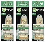 Garnier Skin BB Eye Miracle Skin Perfector Eye Roller, Fair/Light, 0.27 Fluid Ounce (Pack of 3)