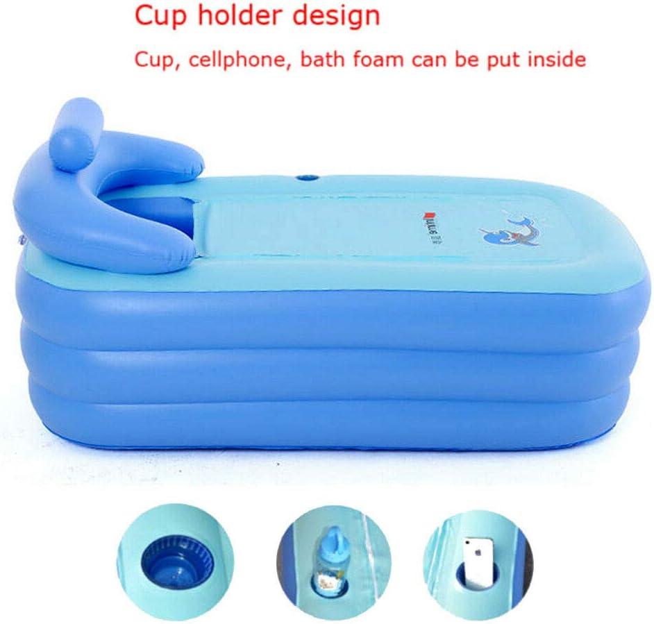 Amazon.com: Bañera de PVC portátil suave inflable para ...